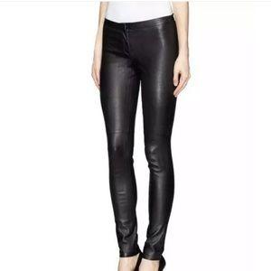 Theory Pitella Stretch Leather Pants
